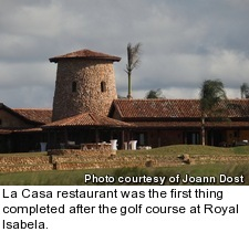 Royal Isabela - La Casa restaurant