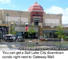 Salt Lake City's Gateway Mall