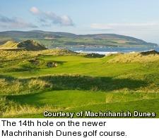 Machrihanish Dunes golf course - hole 14