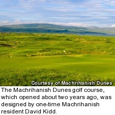 Machrihanish Dunes golf course - hole 9