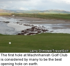 Machrihanish Golf Club - old course - hole 1