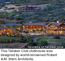 Talisker Club - clubhouse