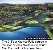 The Cliffs at Keowee Falls Course