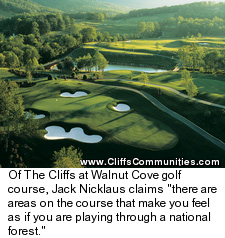 The Cliffs at Walnut Cove Golf Course