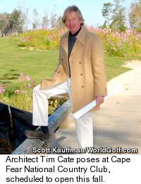 Tim Cate - Golf Course Architect