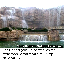 Trump National LA - Waterfall