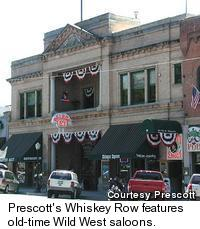 Whiskey Row - Wild West saloons