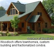 Woodloch - model home